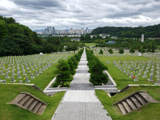 South Korea National cemetary